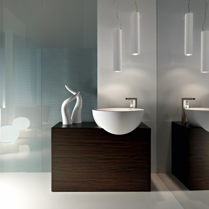 Le meuble sous lavabo 60 id es cr atives for Salle de bain meaning