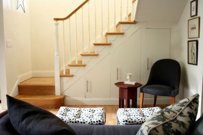 Quel meuble sous escalier choisir Amenagement placard sous escalier