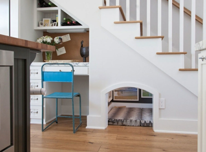 meuble-sous-escalier-placard-sous-escalier-meuble-sous-pente-maison-chien-chat