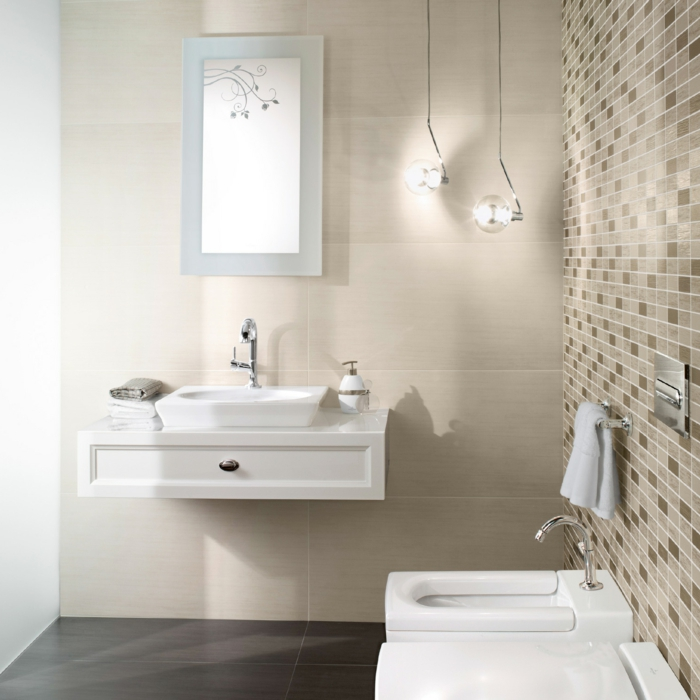 Le meuble sous lavabo 60 id es cr atives for Meuble lavabo avec colonne