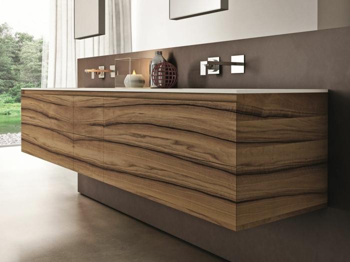 Le meuble sous lavabo 60 id es cr atives for Meuble sous lavabo bois