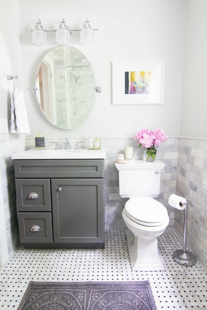 meuble-sous-vasque-salle-de-wc-vintage-pivoines