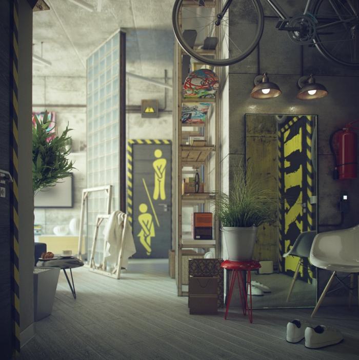 Meuble style industriel les meilleurs pour votre - Table style industriel pas cher ...
