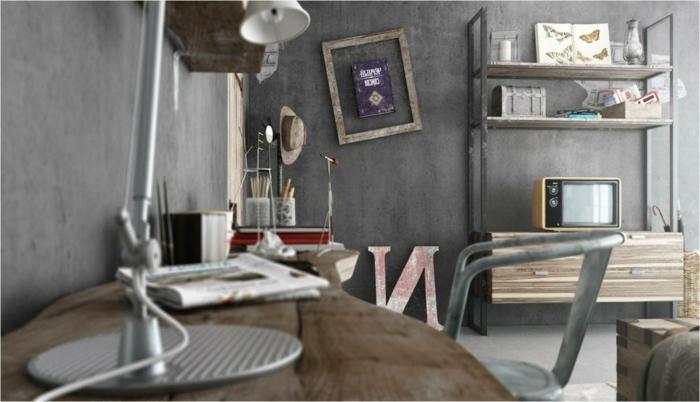Meuble style industriel les meilleurs pour votre for Meuble industriel salon