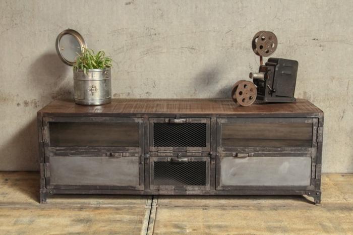 meuble-tv-style-industriel-dans-le-salon