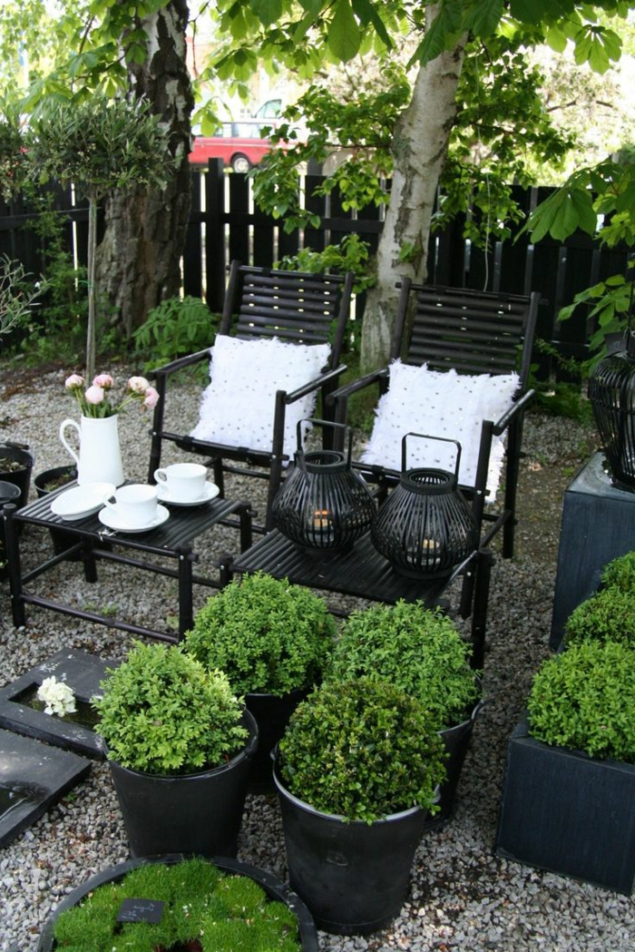 comment choisir une table et chaises de jardin. Black Bedroom Furniture Sets. Home Design Ideas