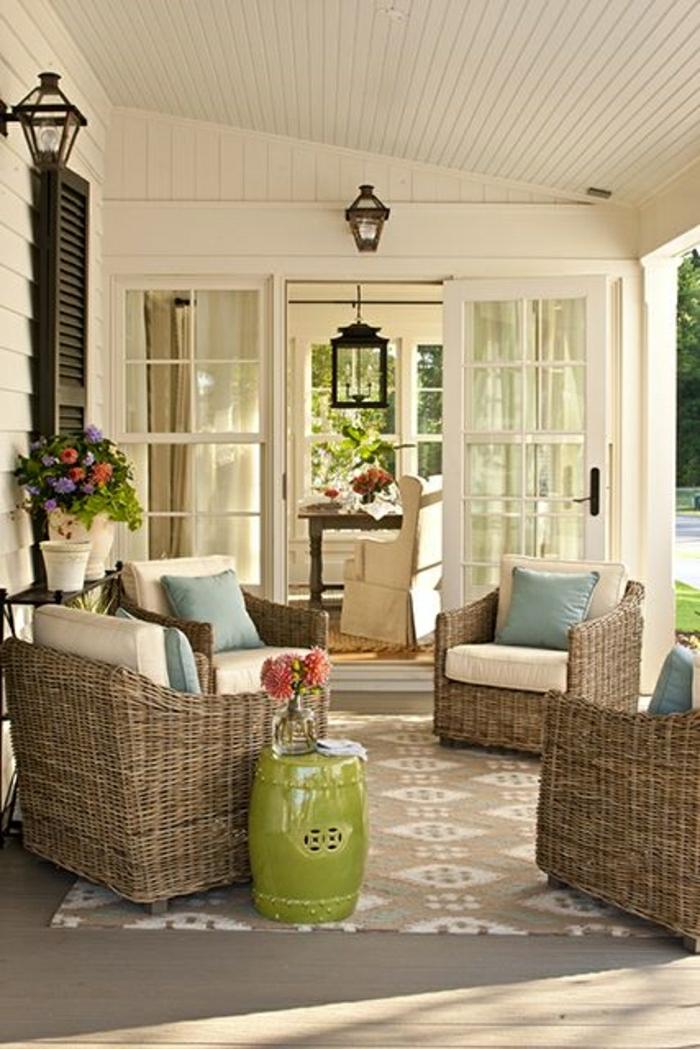 meubles-de-jardin-meubles-d-extérieur-moderne-meubles-en-osier-tapis-beige