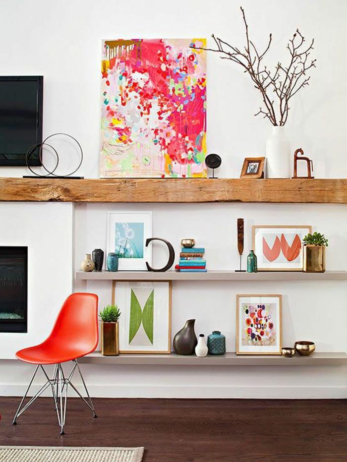 meubles-en-bois-brut-étagère-diy-bois-brut