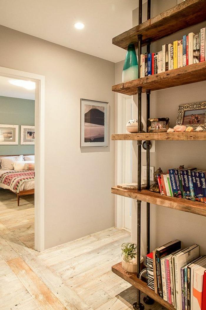 meubles-en-bois-brut-étagère-en-bois-brut