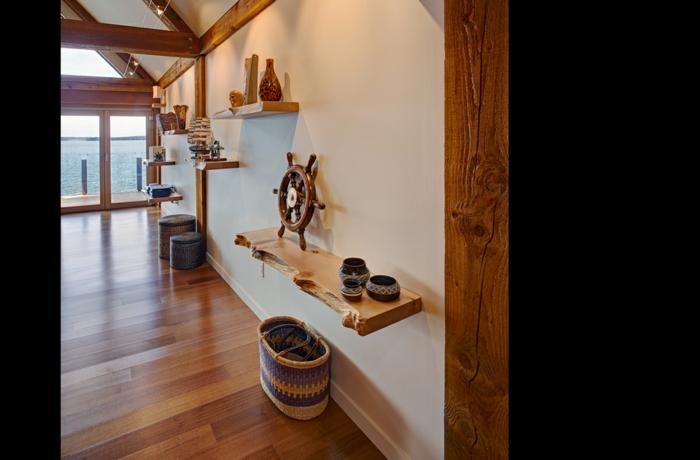meubles-en-bois-brut-étagère-flottante-design