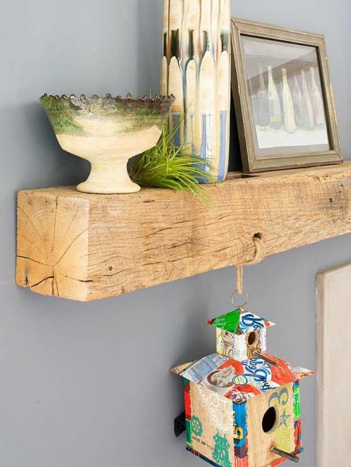 Les meubles en bois brut sont une jolie touche nature pour lintérieur! -> Meubles En Bois Brut