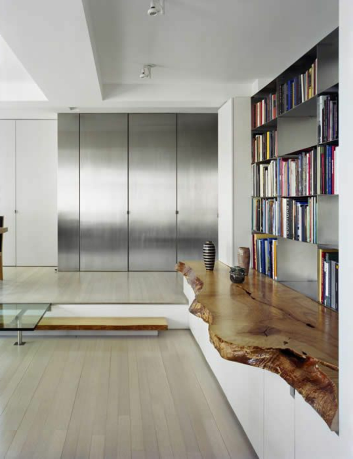 meubles-en-bois-brut-appartement-moderne