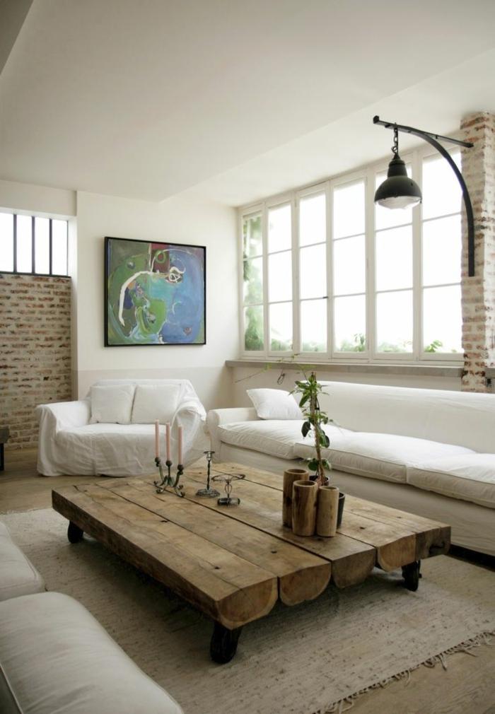 meubles-en-bois-brut-grande-table-en-bois-brut