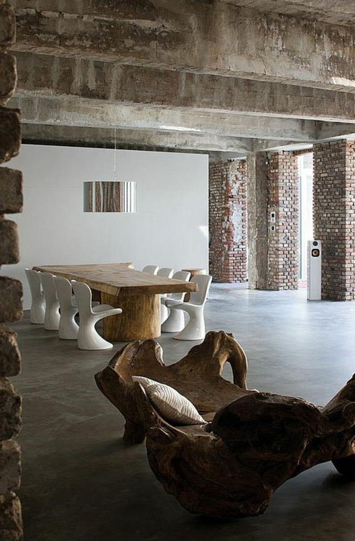 meubles-en-bois-brut-grande-table-et-sofa-unique-bois-brut