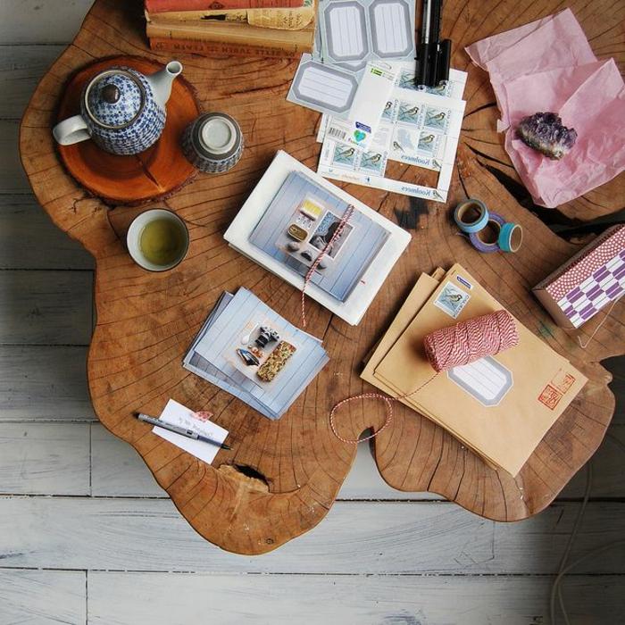 meubles-en-bois-brut-grande-table-tronçon