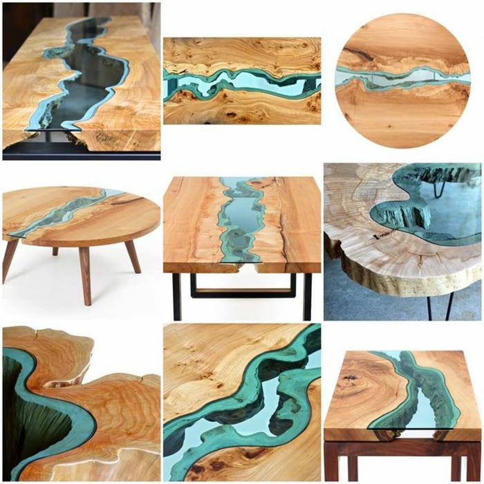 meubles-en-bois-brut-les-tables-rivières-inspirés-de-la-nature