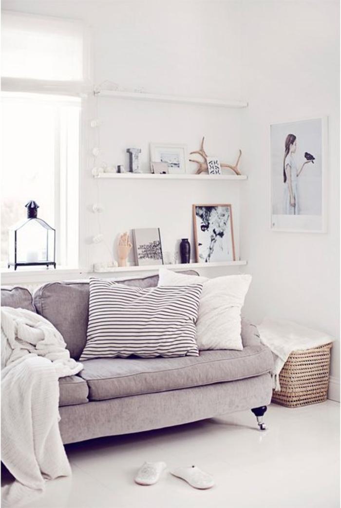 meubles-scandinaves-palaiseau-intérieur-scandinave-de-couleur-taupe-meubles-scandinaves