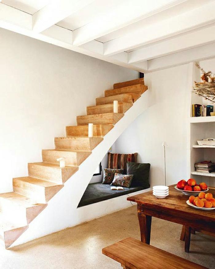 meuble de rangement en escalier maison design. Black Bedroom Furniture Sets. Home Design Ideas