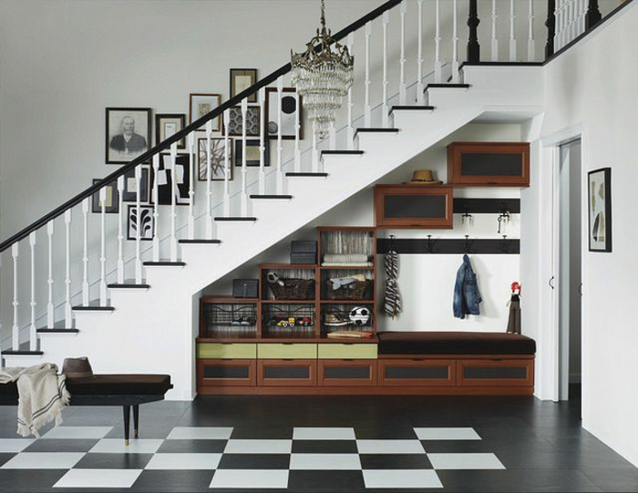 quel meuble sous escalier choisir. Black Bedroom Furniture Sets. Home Design Ideas