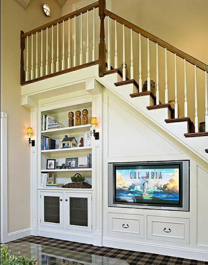 quel meuble sous escalier choisir. Black Bedroom Furniture Sets. Home Design Ideas