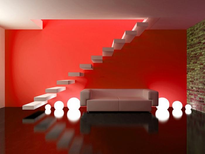 red interior design, red design, yellow design, green design