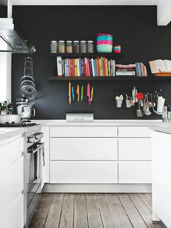 Cuisine mur bleu gris belle cuisine nous a fait l 39 aise dans le processus de nourriture for Cuisine blanc mur gris