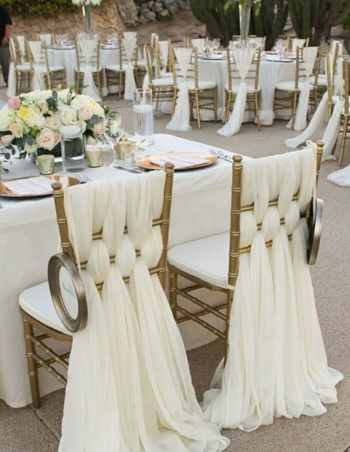 Idee Decoration Chaise Mariage
