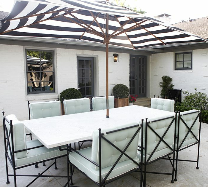 Le parasol rectangulaire en photos qui va vous inspirer for Jardin ikea 2015