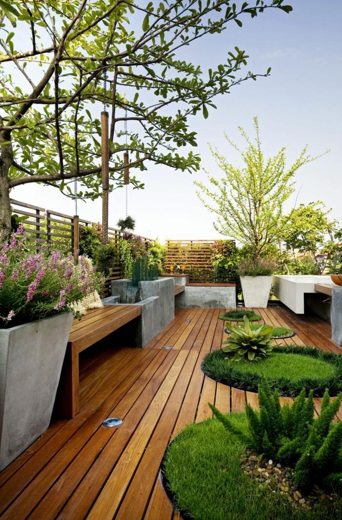 pelouse-synthétique-pour-le-jardin-sol-en-plancher-en-bois-gazon-artificiel-plancher