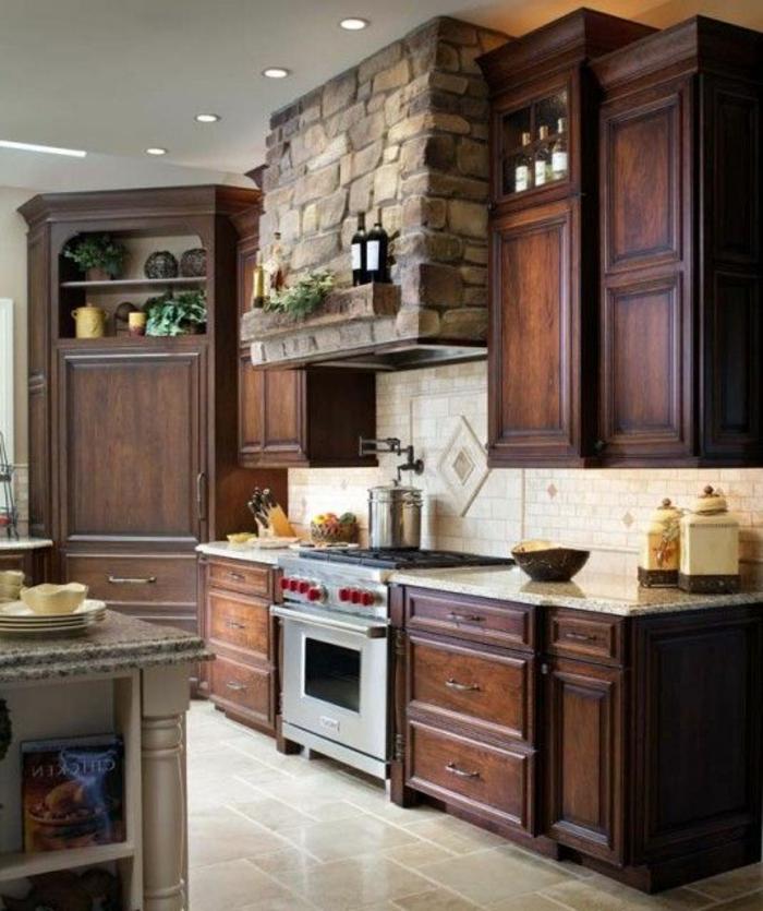 plan-de-travail-bois-massif-meubles-cuisine-en-bois-brut-aménagement-de-la-cuisine-en-bois-massif