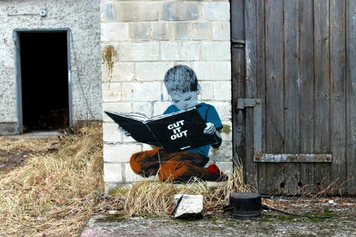 pochoir-a-imprimer-artiste-street-art-enfant-lit