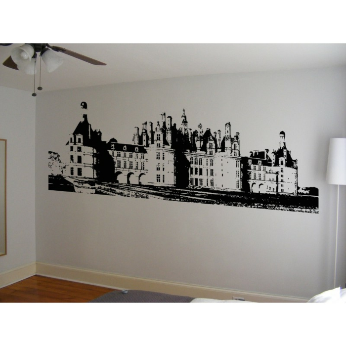 pochoir-peinture-murale-grand-pochoir-mural-chateau-sticker