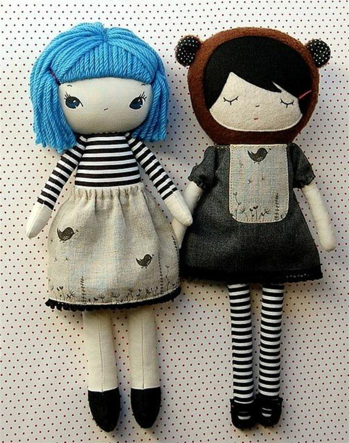 poupée-de-chiffon-deux-poupées-de-chiffon