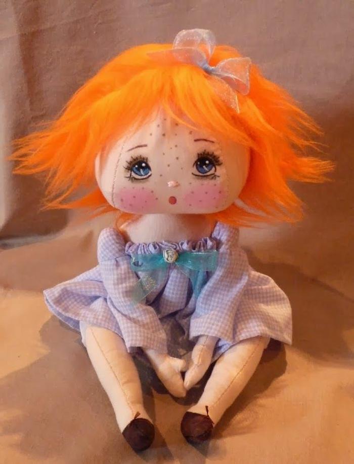 poupée-de-chiffon-poupée-chiffon-aux-cheveux-oranges