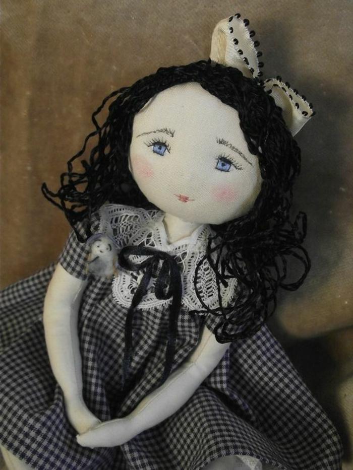 poupée-de-chiffon-poupée-chiffon-aux-yeux-bleus