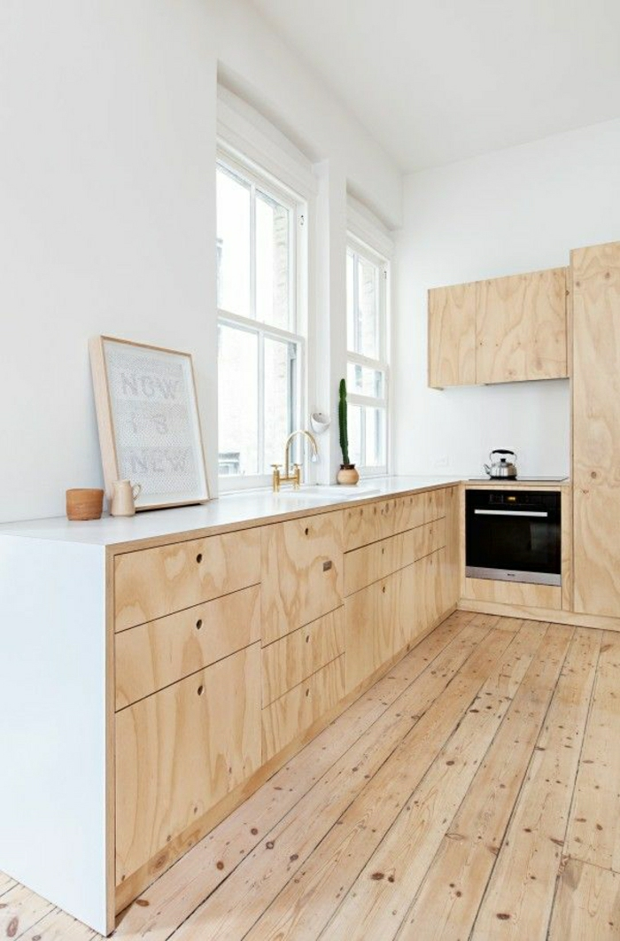 Choisir quelle couleur pour une cuisine for Quelle peinture pour contreplaque