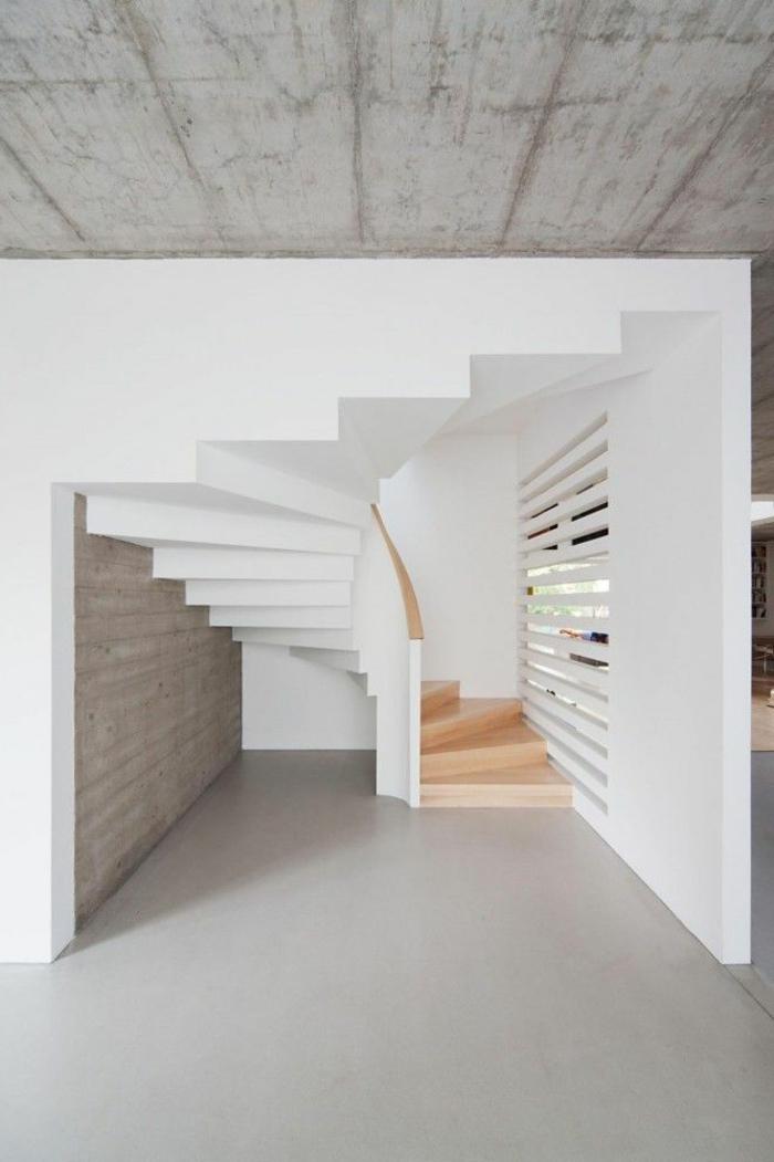 rampe escalier interieur moderne. Black Bedroom Furniture Sets. Home Design Ideas
