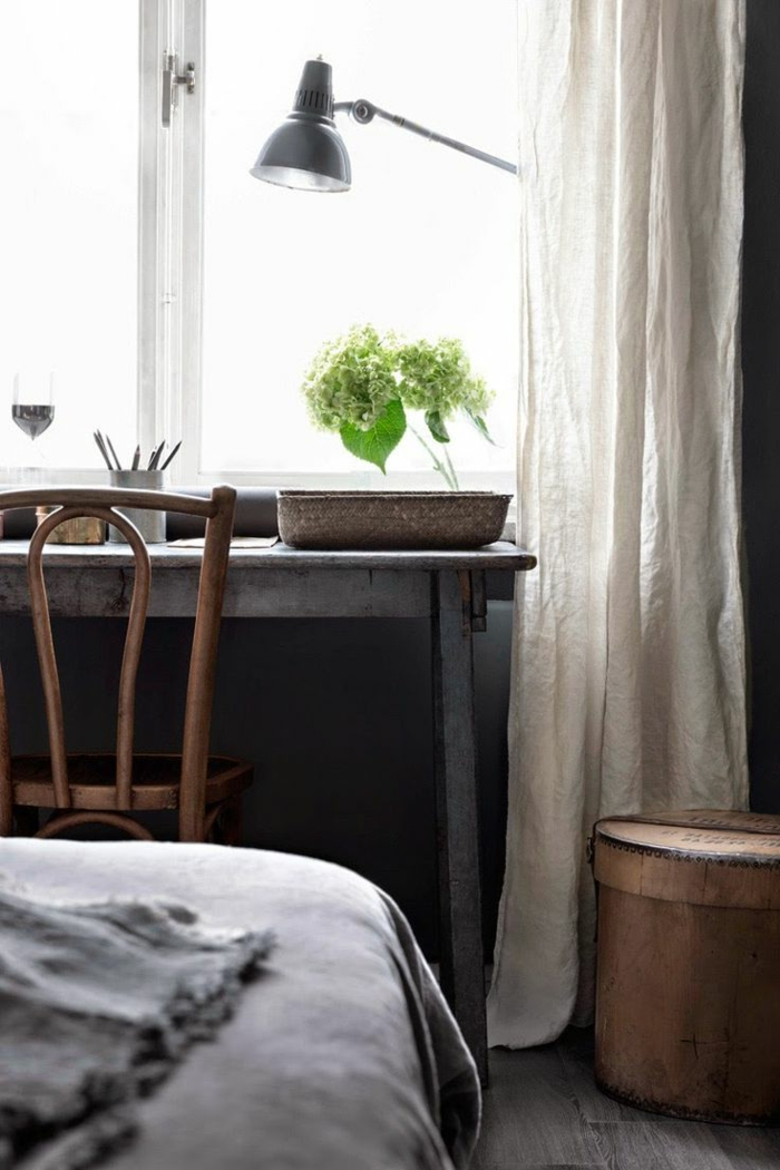 Le rideau en lin une belle décoration pour lintérieur