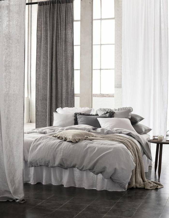 rideau-en-lin-gris-draperie-lin-dans-l'intérieur