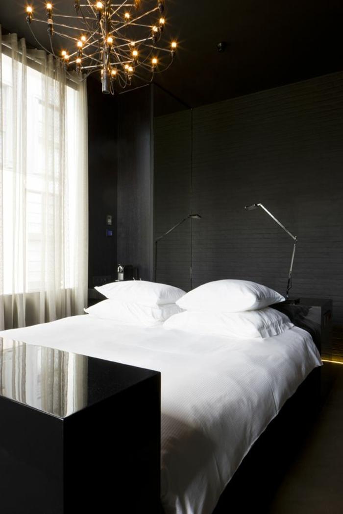 rideau-en-lin-léger-chambrer-à-coucher-glamoureuse