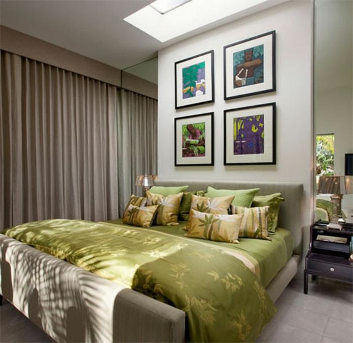 rideau-en-lin-rideau-lin-beige-dans-la-chambre-à-coucher