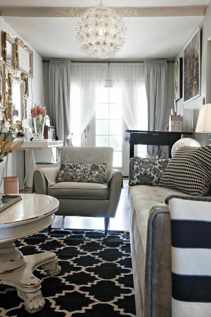 rideau-en-lin-rideau-lin-gris-intérieur-vintage