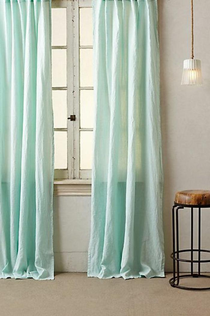 rideau-en-lin-rideaux-lin-turquoises