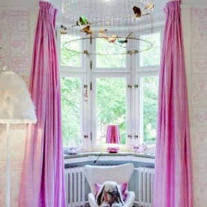 Le rideau en lin - une belle décoration pour l'intérieur