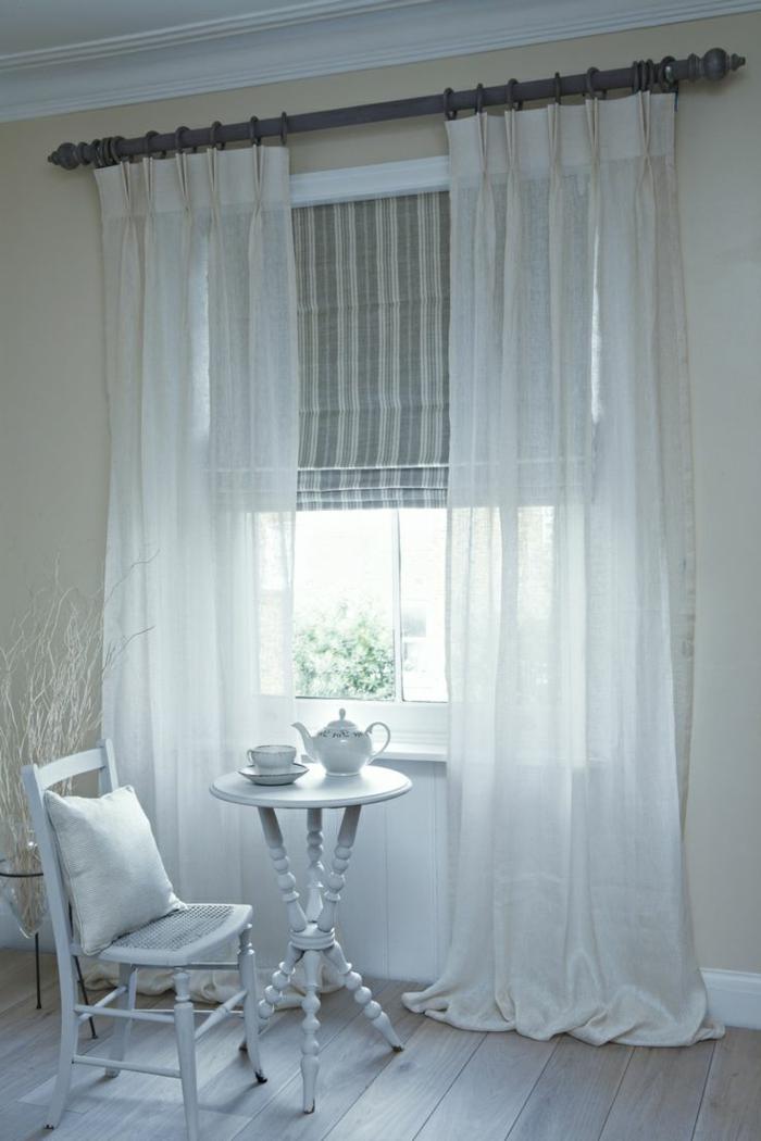 rideau-en-lin-volets-en-lin-blanc-super-léger