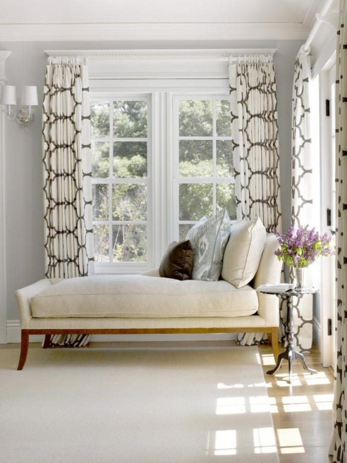 les rideaux occultants les plus belles variantes en photos. Black Bedroom Furniture Sets. Home Design Ideas