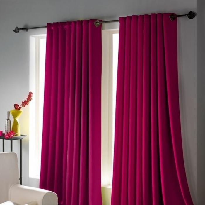 rideau-ocultant-rose-foncé-rideaux-occultants-pour-le-salon-moderne-design