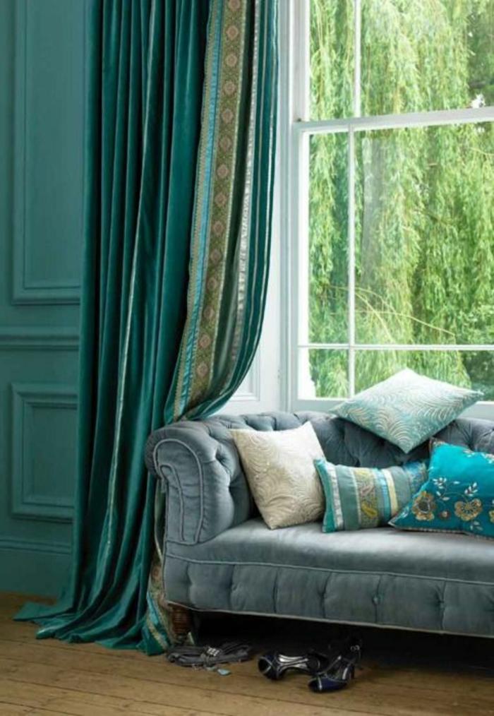Les rideaux occultants les plus belles variantes en photos for Toile fenetre ikea