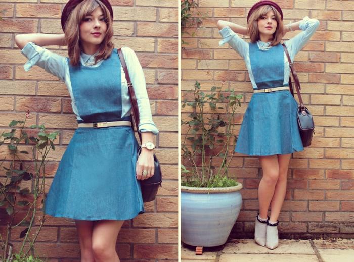robe-chasuble-bleue-énigmatique