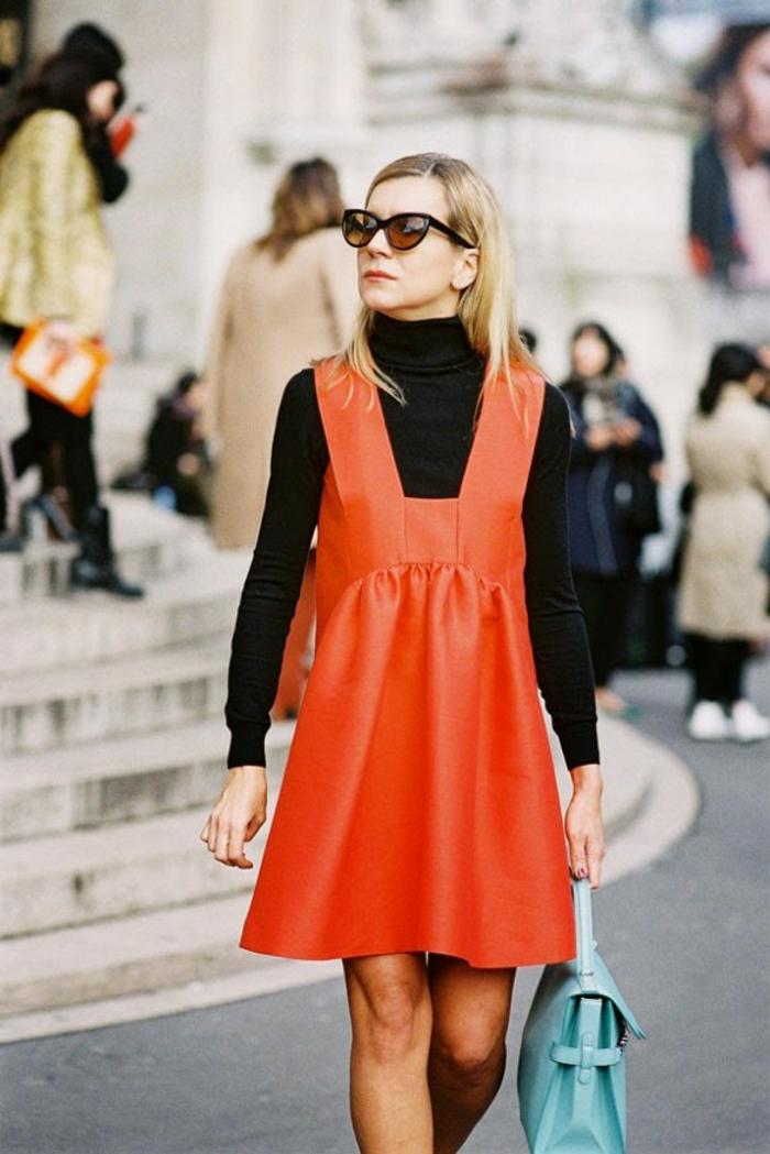 robe-chasuble-en-couleur-vive